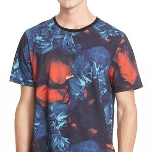 ami alexandre mattiussi floral tshirt